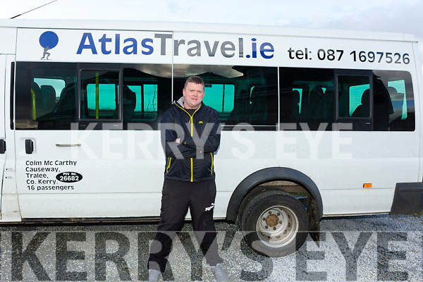 Colm McCarthy of AtlasTravel.ie a tour company in Ballinglana Causeway.