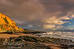 Sculptured Beach, Point Reyes National Seashore, Burton Wilderness, Marin County, California