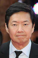 NON EXCLUSIVE PICTURE: PAUL TREADWAY / MATRIXPICTURES.CO.UK.PLEASE CREDIT ALL USES..WORLD RIGHTS..American actor Ken Jeong attends the European Premiere of The Hangover Part 3, at the Empire Cinema in Leicester Square, London...MAY 22nd 2013..REF: PTY 133458