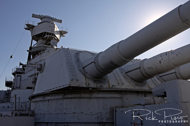 USS Iowa's Number 2 Gun Battery.