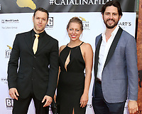 LOS ANGELES - SEP 28:  Dove Meir, Tegan Bukowski, Henry Behel at the 2019 Catalina Film Festival - Saturday at the Catalina Bay on September 28, 2019 in Avalon, CA