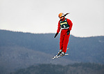 19 January 2008: Xinxin Guo from China jumps in the Qualification Round of the FIS World Cup Freestyle Ladies' Aerial Competition at the MacKenzie Ski Jump Complex in Lake Placid, New York, USA. Guo finished second in both the Qualification Round and the Finals to win the Silver Medal at the event...Mandatory Photo Credit: Ed Wolfstein Photo