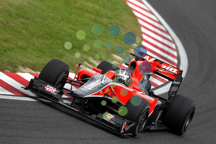 F1 GP of Japan, Suzuka  08.- 10. Okt. 2010.Timo Glock (GER), Virgin Racing ...Picture: Hasan Bratic/Universal News And Sport (Europe) 8 October 2010.