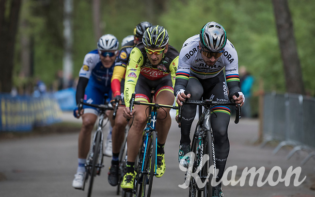 World Champion Peter Sagan (SVK/Bora-Hansgrohe) at the Tom Boonen farewell race/criterium 'Tom Says Thanks!' in Mol/Belgium