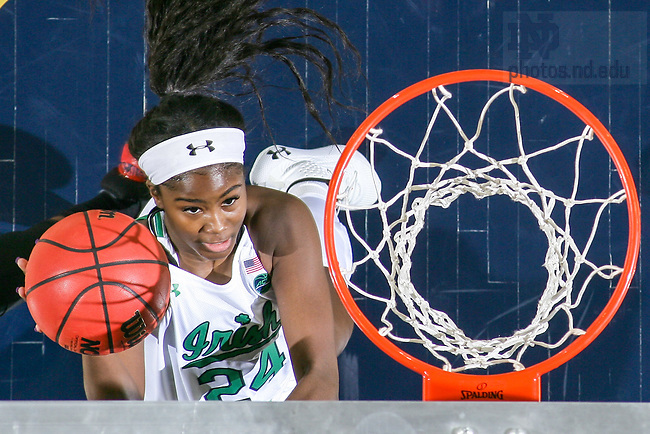 January 30, 2020; Destinee Walker in action (Photo by Matt Cashore)