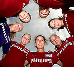 Nederland, Eindhoven, 18 juli 2012.Seizoen 2012/2013.Dames Voetbal van PSV.vandaag werd het Vrouwenteam PSV/FC Eindhoven gepresenteerd