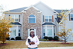 Elizabeth Francis is concerned about so many newly built homes in her home's subdivision in Loganville, Georgia being listed as rental units. She stands in front of her home that she has now placed for sale in response.