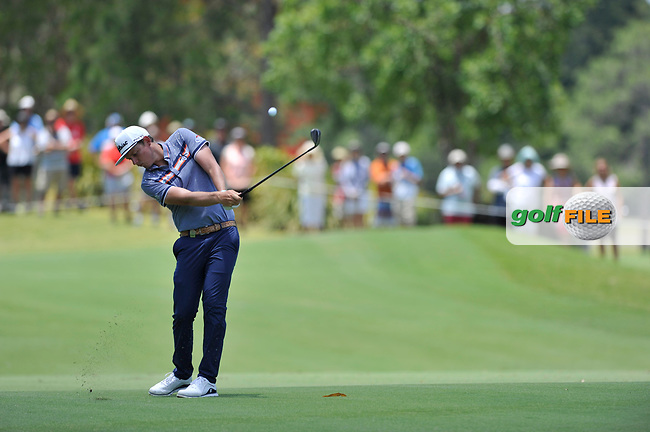 Cameron Smith (AUS) during the 3rd round of the Australian PGA Championship, Royal Pines Resort Golf Course, Benowa, Queensland, Australia. 01/12/2018<br /> Picture: Golffile | Anthony Powter<br /> <br /> <br /> All photo usage must carry mandatory copyright credit (© Golffile | Anthony Powter)