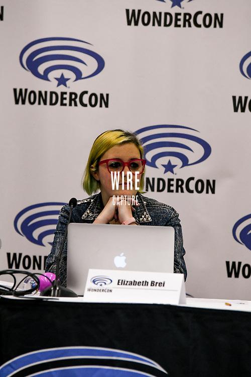 Elizabeth Brei at Wondercon in Anaheim Ca. March 31, 2019