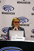 Elizabeth Brei at Wondercon in Anaheim Ca. March 31, 2019