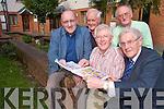 AS GAEILGE: Irish Language classes held in the Meadowlands Hotel every XXXX night .Pictured were: Padraig Mac Fhearghusa, Micheal Breathnach, Padraig O'Dalaigh, Brian Caball, Sean Seosamh O'Conchubhair.