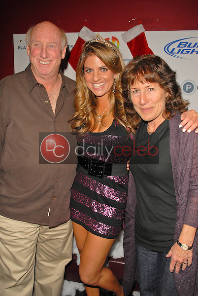 Phil Brock and Bridgetta Tomarchio and Kathy Boole<br /> at Bridgetta Tomarchio B-Day Bash and Babes in Toyland Toy Drive, Lucky Strike, Hollywood, CA. 12-04-09<br /> David Edwards/Dailyceleb.com 818-249-4998