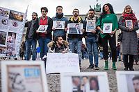 2018/11/03 Politik | Berlin | Mahnwache fuer verschwundene Syrer