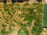 Vista aerea de Complejo deportivo de la Comisi&oacute;n Estatal de Deporte, CODESON en Hermosillo, Sonora....<br /> <br /> Campo De Tiro Con Arco. Sequ&iacute;a. Pasto. Pasto seco. C&eacute;sped Verde. Contraste<br /> <br /> <br /> Photo: (NortePhoto / LuisGutierrez)<br /> <br /> ...<br /> keywords: