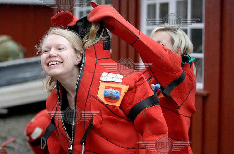 Kongsberg Gruppen, ISAF sikkerhetskurs ifm regattaforberedelser.