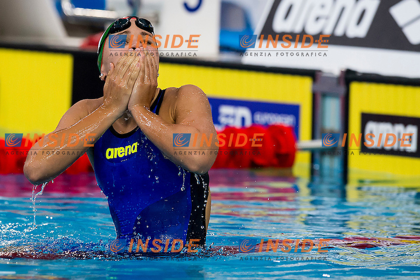 Kesely Ajna HUN<br /> 200 Freestyle Women Final Gold Medal<br /> LEN 43rd Arena European Junior Swimming Championships<br /> Hodmezovasarhely, Hungary <br /> Day04 09-07-2016<br /> Photo Andrea Masini/Deepbluemedia/Insidefoto
