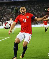Omar Elabdellaoui (Norwegen, Norway) - 04.09.2017: Deutschland vs. Norwegen, Mercedes Benz Arena Stuttgart