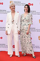 LONDON, UK. May 12, 2019: Ellen Robertson & Charly Clive arriving for the BAFTA TV Awards 2019 at the Royal Festival Hall, London.<br /> Picture: Steve Vas/Featureflash