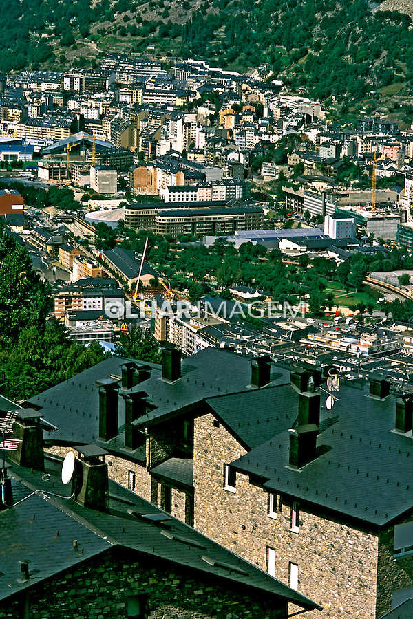 Cidade La Vella, Montes Perineus. Andorra. 2000. Foto de Ricardo Azoury.