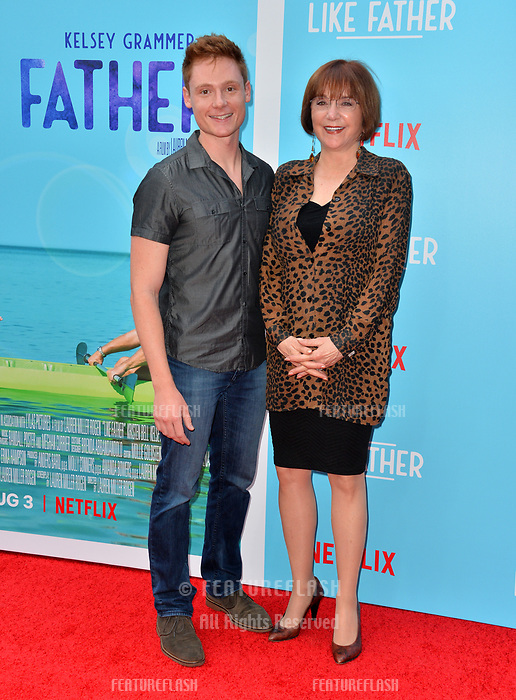 Miles Tagtmeyer &amp; Lee Garlington at the Los Angeles premiere of &quot;Like Father&quot; at the Arclight Theatre, Los Angeles, USA 31 July 2018<br /> Picture: Paul Smith/Featureflash/SilverHub 0208 004 5359 sales@silverhubmedia.com