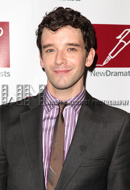 Michael Urie.attending the New Dramatists 63rd Annual Spring Luncheon to Honor Bernadette Peters at the Marriott Marquis Hotel in New York City on 5/24/2012 © Walter McBride/WM Photography .