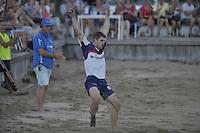 FIERLJEPPEN: IJLST: 24-08-2016, Fierljeppen Fryslân Cup, winnaar Oane Galama, 21.16 meter, ©foto Martin de Jong