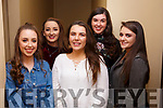 Enjoying the Womens Little Christmas celebrations in the Imperial Hotel on Saturday night last, l-r, Orla O'Riordan, Hannah O'Halloran, Blathlaid O'Connor, Iseult Daly and Danielle Garland.