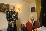 Sigue Sigue Sputnik.Neal Whitmore, Jane Farrimond aka Yana Yaya.  Punk band 1980s Bed and Breakfast hotel Newcastle Upon Tyne. UK