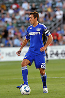 Davy Arnaud...Kansas City Wizards defeated New England Revolution 4-1 at Community America Ballpark, Kansas City, Kansas.