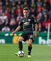 Ander Herrera of Man Utd during the Premier League match between Stoke City and Manchester United at the Britannia Stadium, Stoke-on-Trent, England on 9 September 2017. Photo by Andy Rowland.