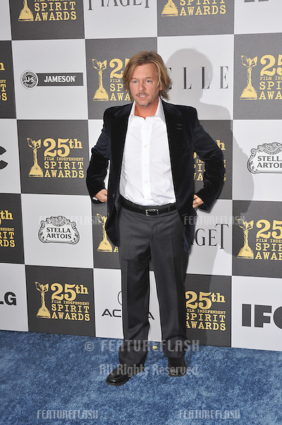 David Spade at the 25th Anniversary Film Independent Spirit Awards at the L.A. Live Event Deck in downtown Los Angeles..March 5, 2010  Los Angeles, CA.Picture: Paul Smith / Featureflash