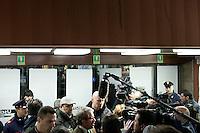 Varese: Roberto Maroni candidato alla presidenza della Regione Lombardia partecipa ad un incontro organizzato dalla Lega Nord Varese..