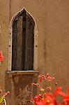 Italian building with decorative window