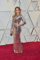 LOS ANGELES, CA. February 24, 2019: Jennifer Lopez at the 91st Academy Awards at the Dolby Theatre.<br /> Picture: Paul Smith/Featureflash