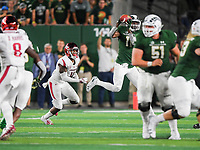 NWA Democrat-Gazette/CHARLIE KAIJO Colorado State Rams wide receiver Preston Williams (11) makes a catch during the fourth quarter of a football game, Saturday, September 8, 2018 at Colorado State University in Fort Collins, Colo.