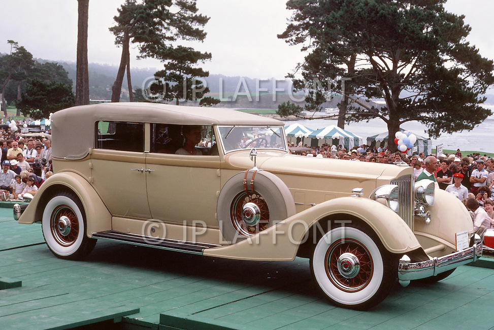 August 26th, 1984. 1932 Packard J568 Coupe Roadster.