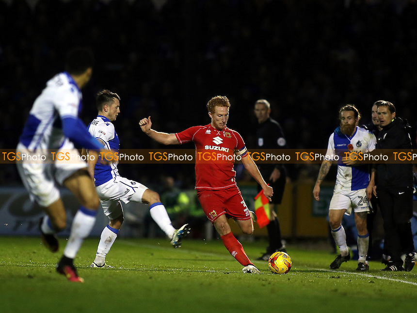 Dean Lewington of MK Dons in action during Bristol Rovers vs MK Dons, Sky Bet EFL League 1 Football at the Memorial Stadium on 19th November 2016