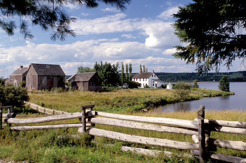New Brunswick, NB, Canada, King's Landing Historical Settlement