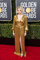 Lucy Boynton attends the 76th Annual Golden Globe Awards at the Beverly Hilton in Beverly Hills, CA on Sunday, January 6, 2019.<br /> *Editorial Use Only*<br /> CAP/PLF/HFPA<br /> Image supplied by Capital Pictures