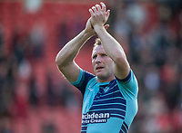 Garry Thompson of Wycombe Wanderers after the Sky Bet League 2 match between Leyton Orient and Wycombe Wanderers at the Matchroom Stadium, London, England on 1 April 2017. Photo by Andy Rowland.