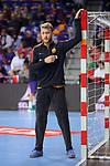 VELUX EHF 2017/18 EHF Men's Champions League Last 16.<br /> FC Barcelona Lassa vs Montpellier HB: 30-28.<br /> Perez de Vargas.