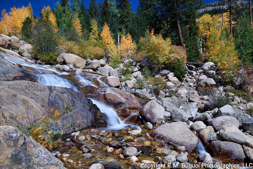 Alluvial Fan Waterfall - Rocky Mountain National Park