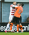 :: HAMILTON'S MICKAEL ANTOINE-CURIER CLASHES WITH DUNDEE UTD'S PRINCE BUABEN ::