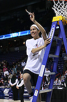 31 March 2008: Rosalyn Gold-Onwude during Stanford's 98-87 win over the University of Maryland in the elite eight game of the NCAA Division 1 Women's Basketball Championship in Spokane, WA.