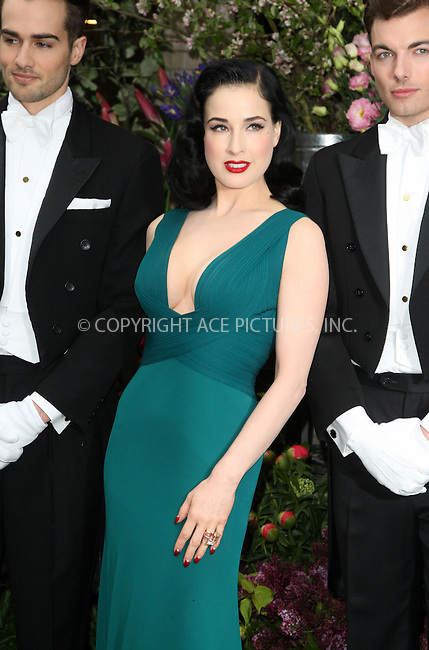 WWW.ACEPIXS.COM . . . . .  ..... . . . . US SALES ONLY . . . . .....May 1 2012, London....Dita Von Teese at the launch of her debut perfume at Liberty on May 1 2012 in London....Please byline: FAMOUS-ACE PICTURES... . . . .  ....Ace Pictures, Inc:  ..Tel: (212) 243-8787..e-mail: info@acepixs.com..web: http://www.acepixs.com