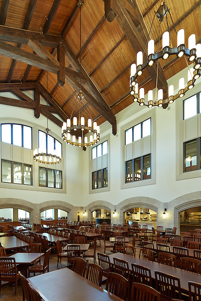 Dining Hall at Marist College, Poughkeepsie, NY