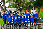 Junior Infants 2 at Scoil Mhuire, Killorglin with their teacher Mrs. Burke