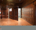 Pivot door, Great Hall. Photo by Matt Flynn © 2014 Cooper Hewitt, Smithsonian Design Museum