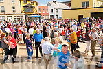 Fleadh Cheoil CJiarrai: The outdorr dancing platform aT the Fleadjh in Ballybunion on Sunday.