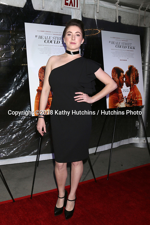 """LOS ANGELES - DEC 4:  Adele Heather Taylor at the """"If Beale Street Could Talk"""" Screening at the ArcLight Hollywood on December 4, 2018 in Los Angeles, CA"""